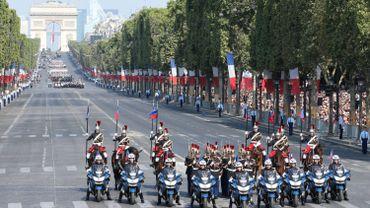 France: défilé du 14 juillet à Paris, avant la finale du Mondial