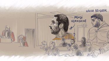 Procès du Musée juif: les derniers mots de Mehdi Nemmouche et Nacer Bendrer