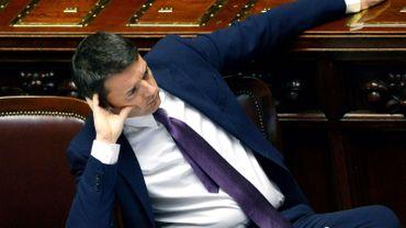 Matteo Renzi au parlement ce mardi