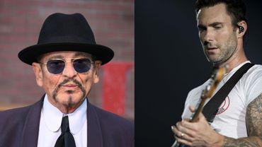 """Le chanteur et acteur Joe Pesci et la chanteur de Maroon 5, Adam Levine, s'associent pour """"Baby Girl""""."""