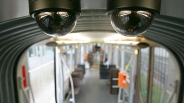 Des caméras dans un tram de la STIB