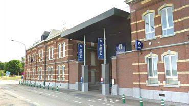 Le bâtiment de la zone de police de Mariemont
