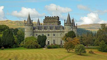 Le château écossais d'Inveraray - © istock.com/trotalo
