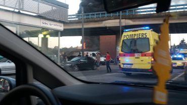 Dampremy: incendie spectaculaire dans un dépôt de pneus, pas de victimes
