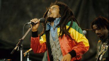 Bob Marley en concert en 1980