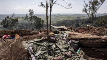 Un soldat des Forces armées de la République démocratique du Congo (FARDC)en Ituri où les combats intercommunautaires entre les communautés Lendu et Hema ont déplacé jusqu'à présent plus de 300 000 personnes.