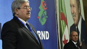 L'ex Premier ministre algérien et leader du Rassemblement national démocratique (RND), Ahmed Ouyahia, un fidèle du président Abdelaziz Bouteflika, le 31 janvier 2019 à Alger