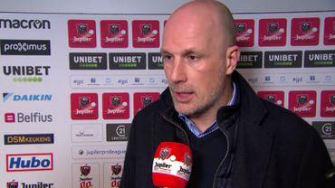 """Clement: """"C'était le match le plus mauvais de Bruges cette saison"""""""