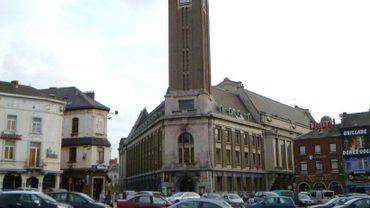 Hotel de ville de Charleroi, place du Manège