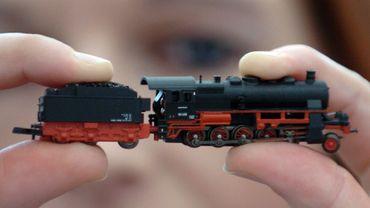 Des petits trains jusqu'au plafond !