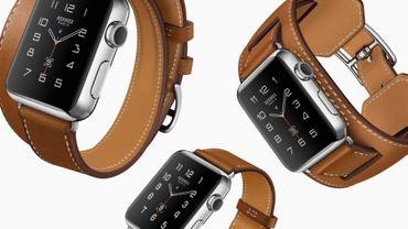 L'Apple Watch habillée par Hermès, du luxe et encore du luxe...