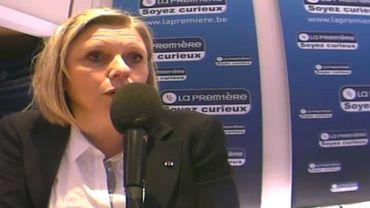 Eliane Tillieux (PS), ministre wallonne de l'Emploi et la Formation.