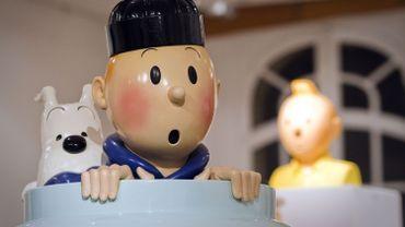 Tintin dispose désormais de sa propre galerie au Sablon à Bruxelles