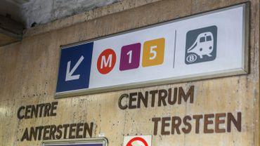 """Mobilité à Bruxelles: la rénovation de la station de métro """"Gare Centrale"""" est en vue, la vingtième d'une série qui s'allonge"""