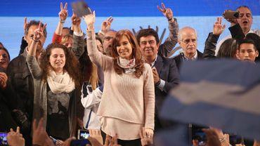 Cristina Kirchner, le 14 août à Buenos Aires