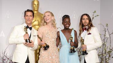 Matthew McConaughy, Cate Blanchett, Lupita Nyong'o et Jared Leto
