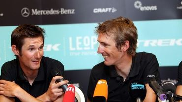 Frank et Andy Schleck