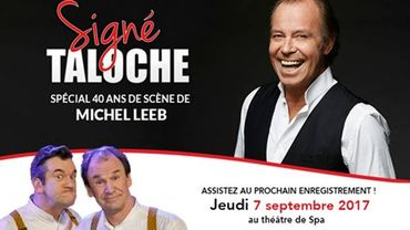"""Enregistrement du prochain """" Signé Taloche """""""