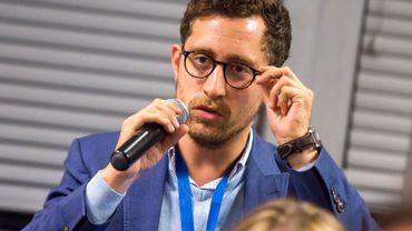 Stéphane Obeid, l'une des plus jeunes têtes de liste à Bruxelles.