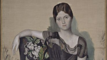 """""""Portrait d'Olga dans un fauteuil"""" (Printemps 1918), Pablo Picasso"""