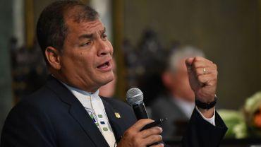 L'ex-président équatorien Rafael Correa débattra liberté de la presse avec Ecolo samedi à Liège