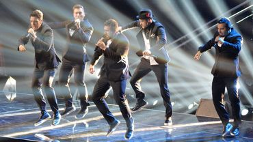 Justine Timberlake et N Sync aux MTV Video Music Awards - Show