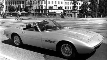 La Maserati Ghibli Spyder de 1967 est au cœur de l'exposition dédiée à la marque italienne à MotorVillage