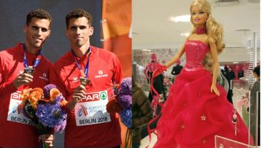 Sport et poupée au programme du prochain Grand Cactus, avec la famille Borlée et Barbie!