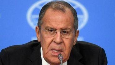 """Lavrov assure que la Russie """"ne se frotte pas les mains"""" à propos du Brexit"""