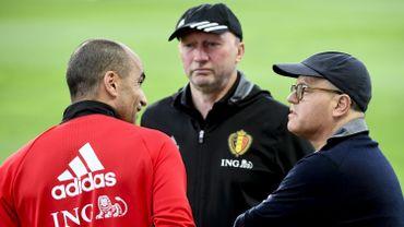 Football : Roberto Martinez avec Bart Verhaeghe