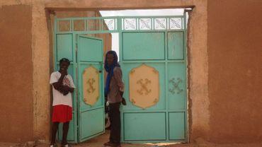 La porte d'entrée du ghetto à Agadez