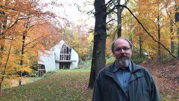 L'architecte Damien Carnoy est l'un des écobâtisseurs qui ouvrent leurs portes cette année.