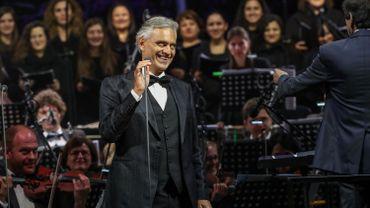 Andrea Bocelli sera en concert au Sportpaleis le 9 juin au lieu du 21 mars