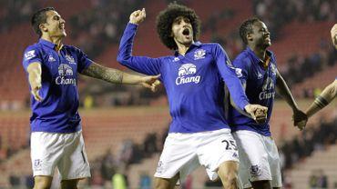 La joie d'Everton