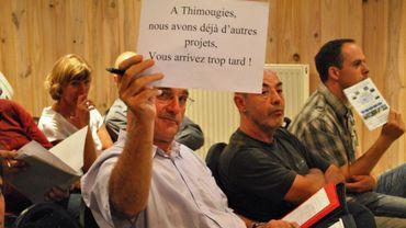 Beaucoup de riverains sont opposés au projet