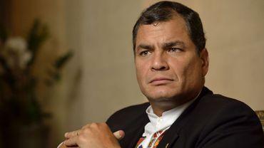 Menaces envers l'ex-président d'Équateur à Louvain-la-Neuve: suspension du prononcé
