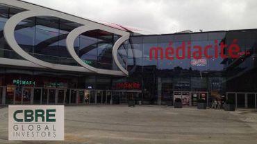 Le centre commercial Médiacité de Liège est vendu à l'américain CBRE