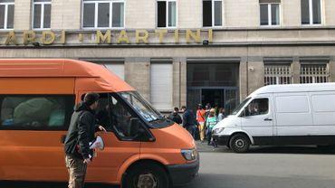 L'ancien bâtiment Martini occupé par la Voix des Sans-Papiers depuis le 21 octobre dernier