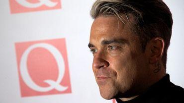 Robbie Williams se produira sur la scène du Luzhniki Stadium à Moscou le 14 juin. - © AFP PHOTO/ANDREW COWIE