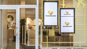 Magasin Neckermann à Gand, en octobre 2019