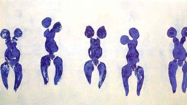 Yves Klein - Anthropométrie