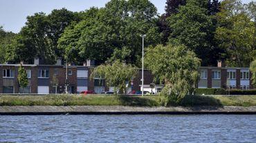 La région du canal à Evergem
