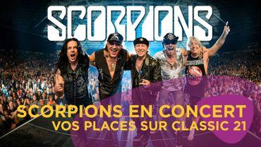Vos places pour Scorpions
