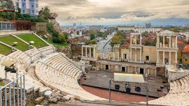 Le théâtre romain à Plovdiv