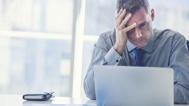 Un cinquième des Belges ne sont pas eux-mêmes au travail