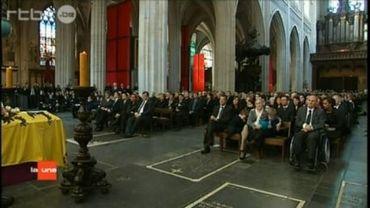 Les funérailles à Anvers