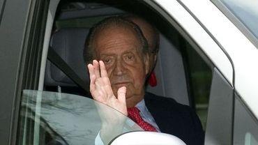 Le roi Juan Carlos de Bourbon-Parme