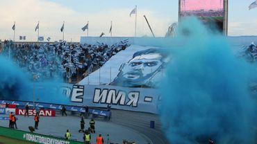 Les fans du Zenit offrent de superbes adieux à Lombaerts