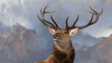 The Monarch of the Glen (About 1851) de Sir Edwin Landseer