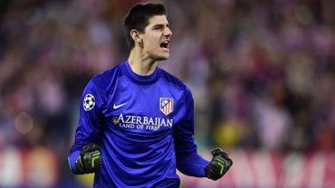Football: Courtois et l'Atletico font trébucher le rival barcelonais